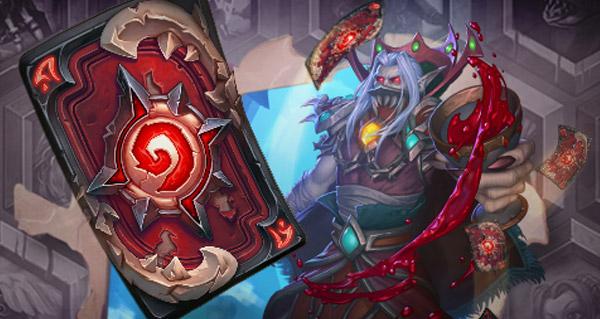 dos de carte du mois d'aout : chevaliers de la mort sang