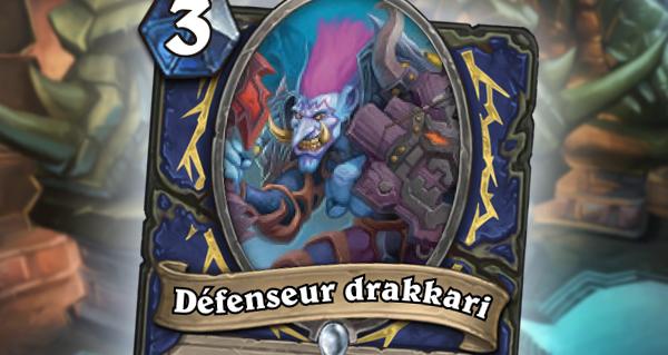 trone de glace : le defenseur drakkari pour chaman