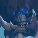 Carte héros Démoniste Hearthstone