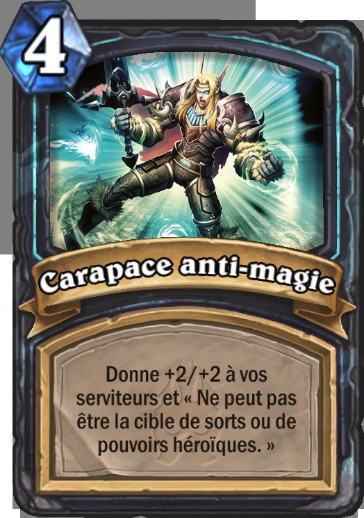 Carte Hearthstone Carapace anti-magie (Chevalier de la mort)