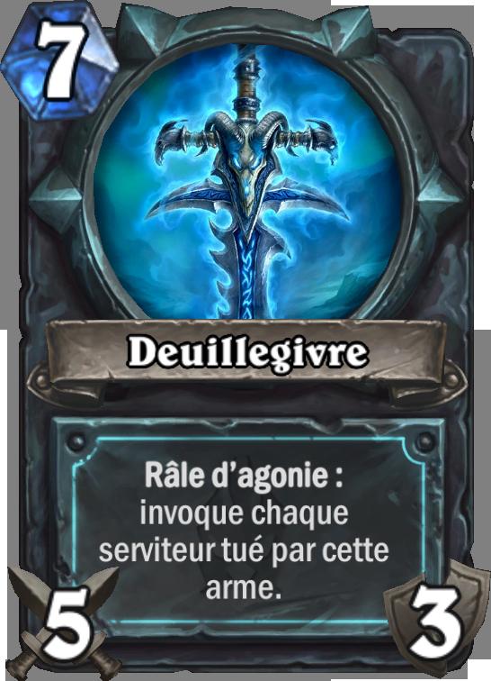 Carte Hearthstone Deuillegivre (Chevalier de la mort)