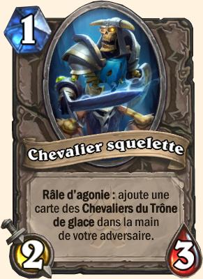 Carte Hearthstone Chevalier squelette