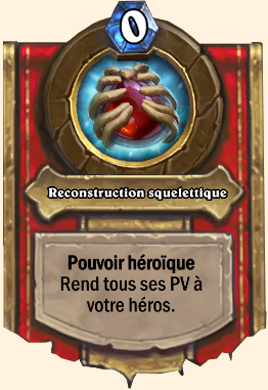 Pouvoir héroïque Gargamoelle Reconstruction squelettique