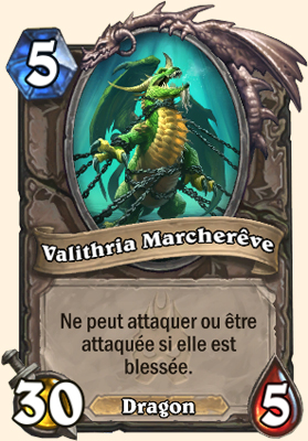 Carte Hearthstone Valithria Marcherêve