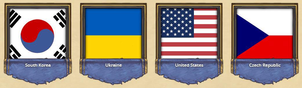 Choisissez une des quatre équipes en finale