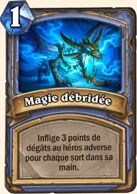 Carte Hearthstone Magie débridée