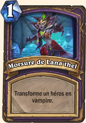 Carte Hearthstone Morsure de Lana'thel