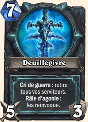 Carte Hearthstone Deuillegivre