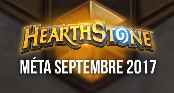 hearthstone : meilleurs decks de la meta septembre 2017