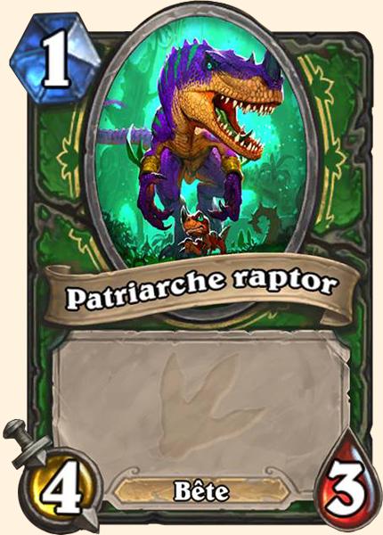 Patriarche raptor Hearthstone