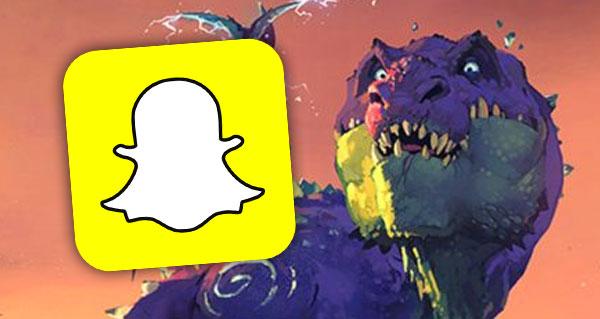un filtre snapchat un'goro disponible des minuit