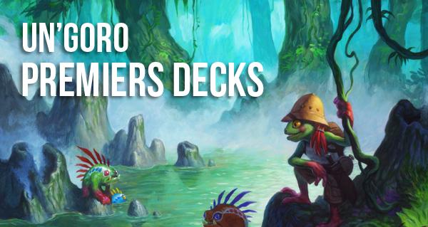 un'goro : les premiers decks pour monter le ladder