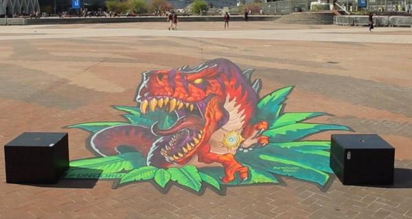 voyage au centre d'un'goro : street art a la defense jusqu'au 14 avril