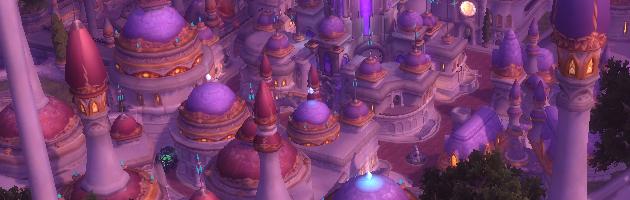 Dalaran au dessus des Îles brisées dans World of Warcraft : Legion