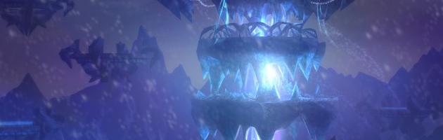 Le Nexus, repère des dragons bleus situé au Norfendre