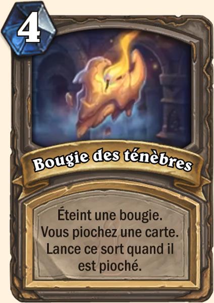 Carte Hearthstone - Bougie des ténèbres