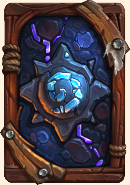 Dos de carte Hearthstone - Cataphile