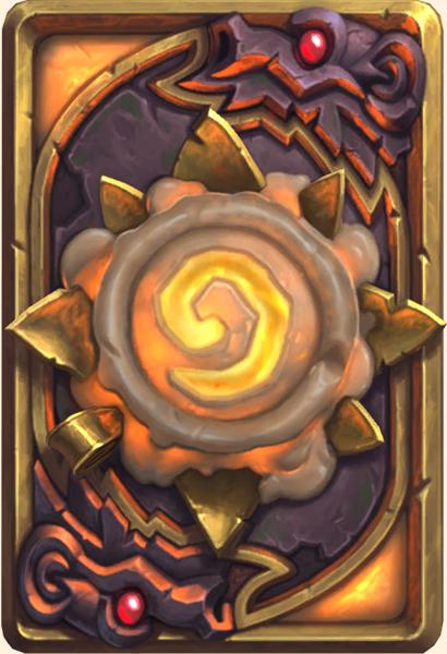 Dos de carte Hearthstone - Roi bougie