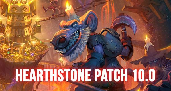 patch 10.0 : kobolds et catacombes, 5 nouveaux dos de cartes et nouvelles quetes
