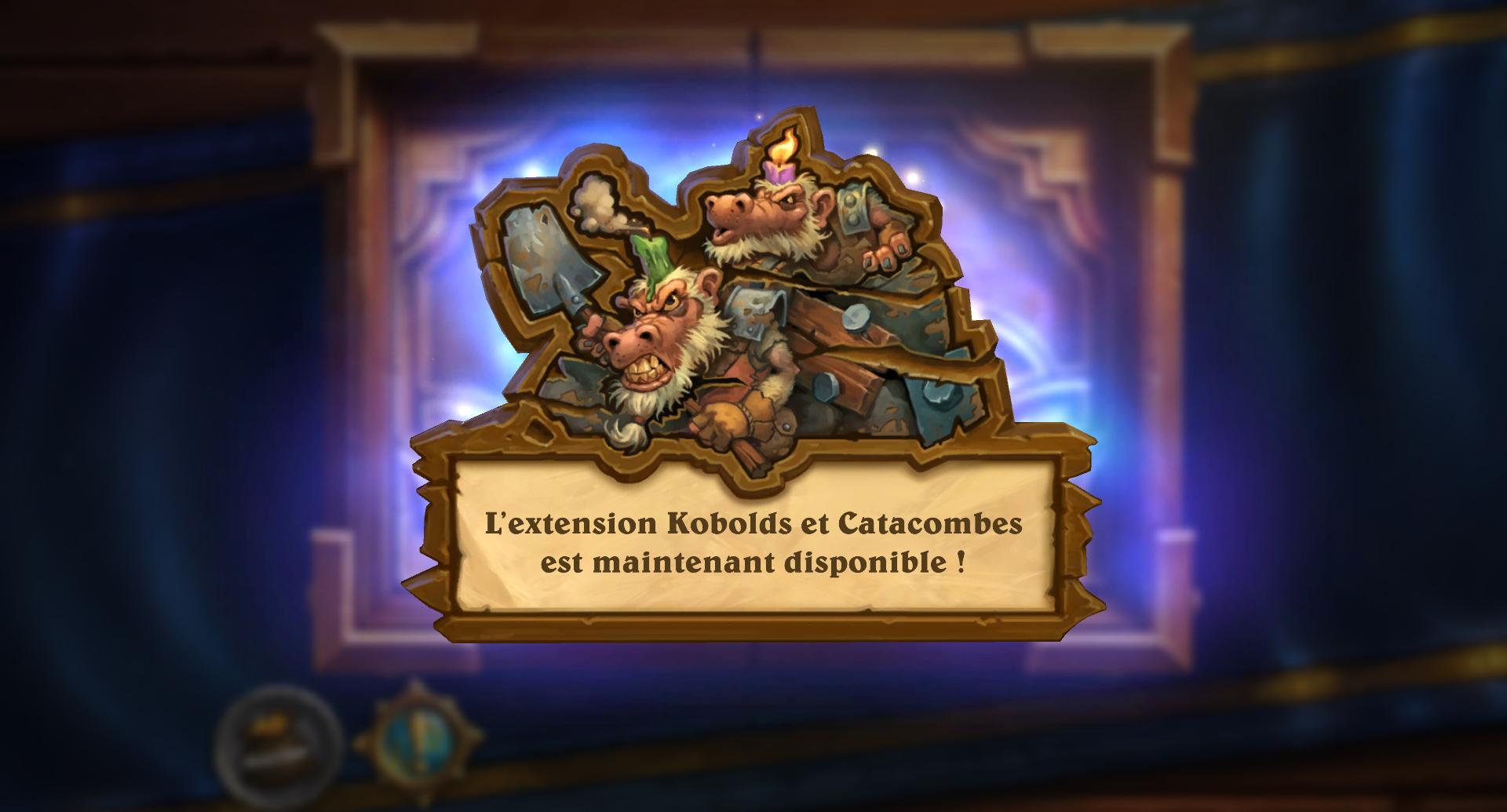 L'extension Kobolds et Catacombes est disponible depuis ce jeudi 7 décembre à 19h00 !