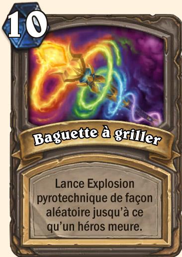 Carte Hearthstone - Baguette à griller