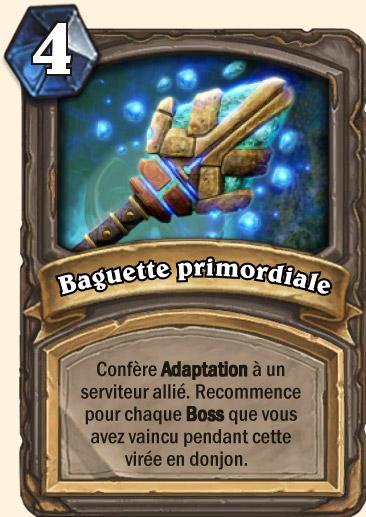 Carte Hearthstone - Baguette primordiale