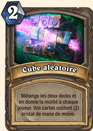 Carte Hearthstone - Cube aléatoire