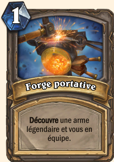 Carte Hearthstone - Forge portative