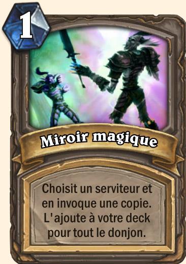 Carte Hearthstone - Miroir magique