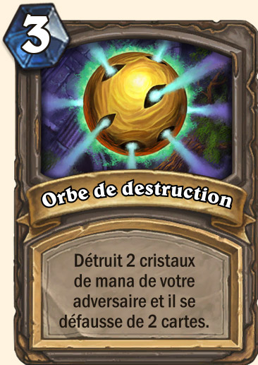 Carte Hearthstone - Orbe de destruction