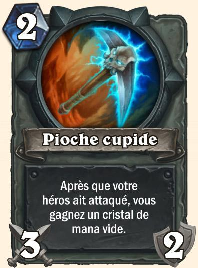 Carte Hearthstone - Pioche cupide