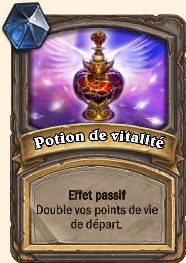 Carte Hearthstone - Potion de vitalité