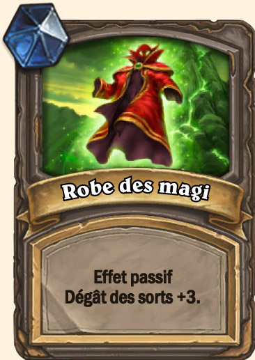 Carte Hearthstone - Robe des magi