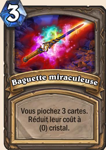 Carte Hearthstone - Baguette miraculeuse