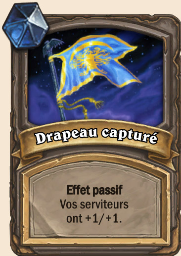 Carte Hearthstone - Drapeau capturé