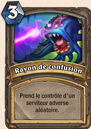 Carte Hearthstone - Rayon de confusion