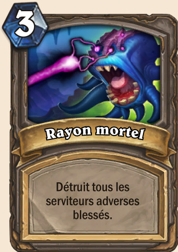 Carte Hearthstone - Rayon mortel