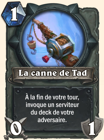Carte Hearthstone - Canne de Tad