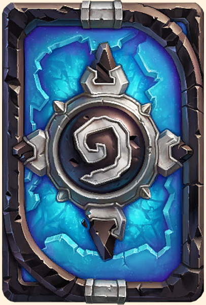 Dos de carte Hearthstone - Blizzcon 2015