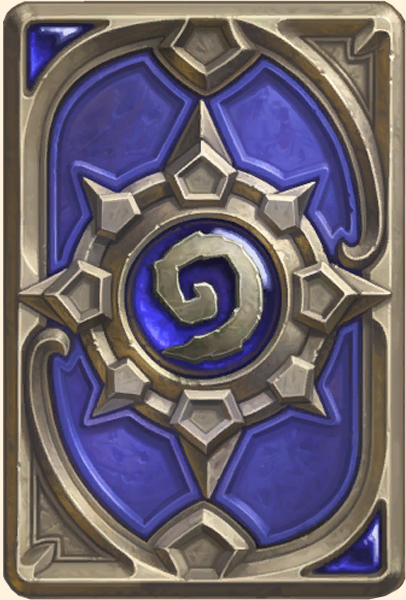 Dos de carte Hearthstone - Blizzcon 2014