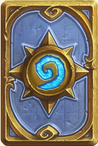 Dos de carte Hearthstone - Base
