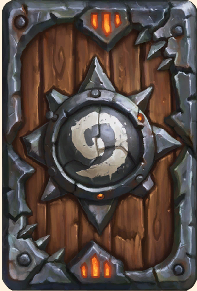 Dos de carte Hearthstone - Warlords of Draenor Collector