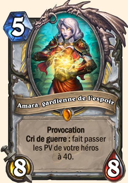 Carte Amara, gardienne de l'espoir