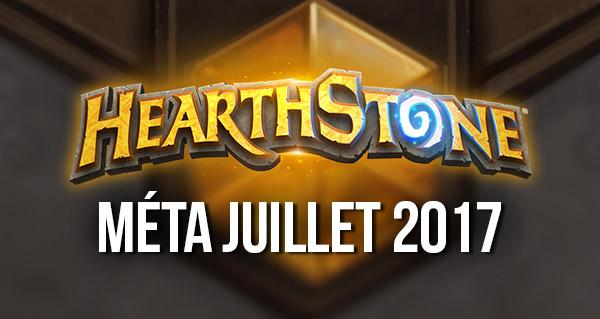 hearthstone : decks populaires de la meta juillet 2017