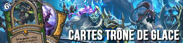 Liste des nouvelles cartes Chevaliers du Trône de glace