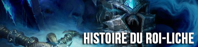 Lore : histoire du roi-liche et du Trône de glace