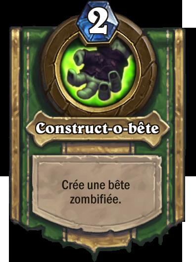 Construct-o-bête