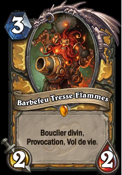 Barbefeu Tresse-Flammes carte Hearthstone