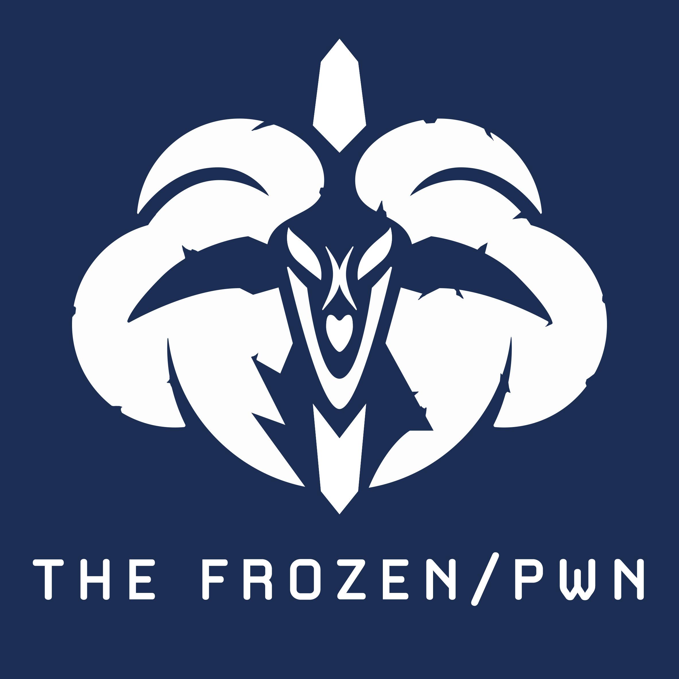 Logo de Frozen Pwn l'équipe esport du roi-liche
