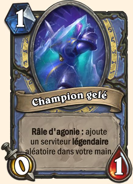 Champion gelé